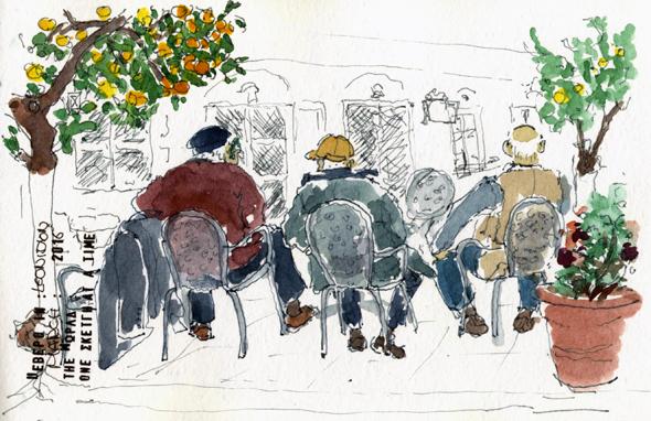 sketch leonidion oldmen