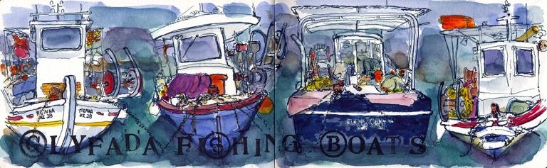 glyfadafishingboats
